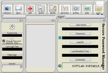 SecureKit Secure Password Manager 2.3.1 Portable