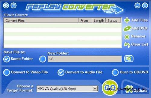 Replay Converter 3.2.0 Portable