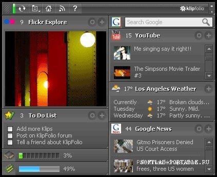 Klipfolio Personal Dashboard 5.0 Build 5900-25