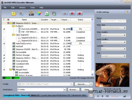 ImTOO MPEG Encoder Ultimate 5.1.26.0.624 Portable