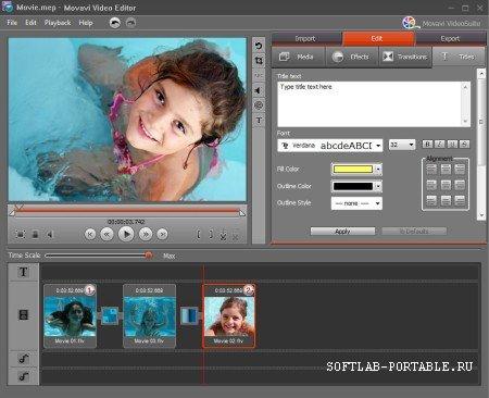 Movavi Video Editor 21.2.1 Portable