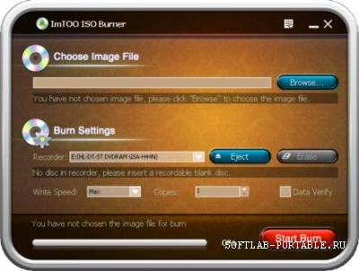 ImToo ISO Burner 1.0.55.0731 Portable