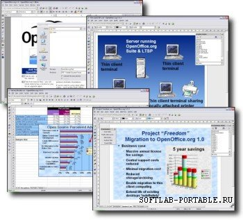 Apache OpenOffice 4.1.10 Portable