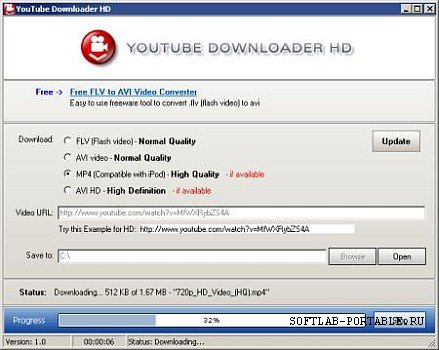 YouTube Downloader HD 3.5 Portable