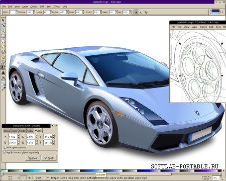 Inkscape 1.1.1 Portable