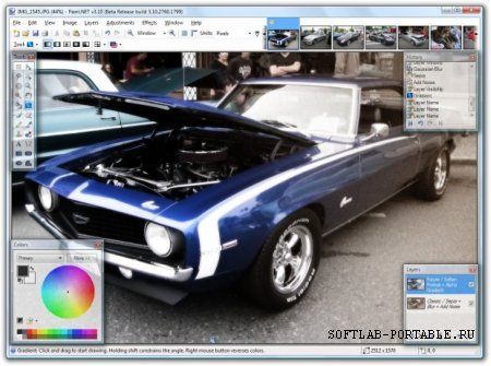 Paint.NET 4.2.16 Final Portable + Plugins
