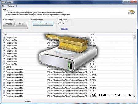 KCleaner 3.8.1.111 Portable