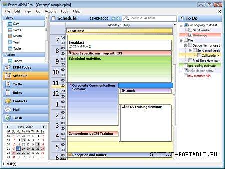 EssentialPIM 9.8 Portable