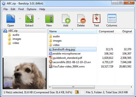 Bandizip 7.14 Final Portable