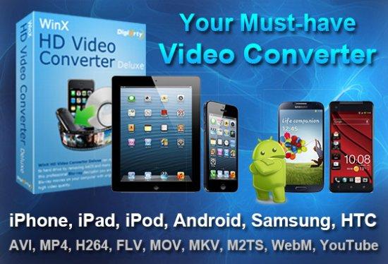 WinX HD Video Converter Deluxe 5.16.4 Portable